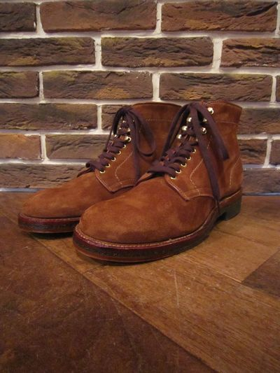 "ALDEN(オールデン)46054""PLAINTOE SUEDE BOOTS""(プレーントゥスウェードブーツ)"