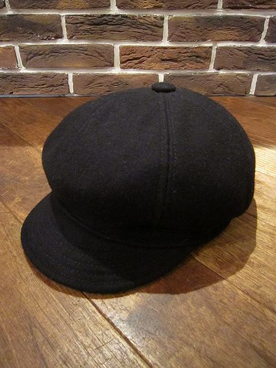 "NEW YORK HAT(ニューヨークハット) WOOL CASQUETTE""WOOL SPITFIRE""(ウールキャスケット)"