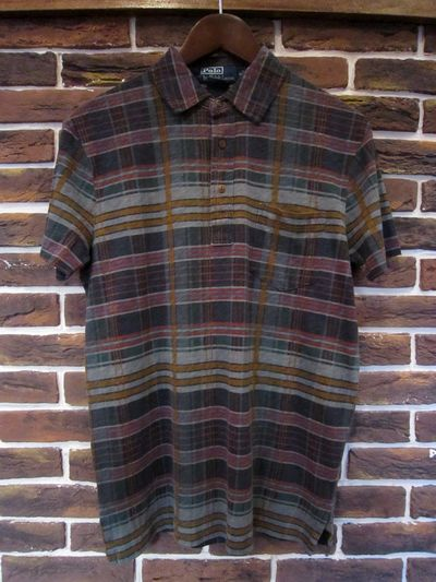 POLO BY RALPH LAUREN(ラルフローレン)S/S PRINT CHECK POLO SHIRTS