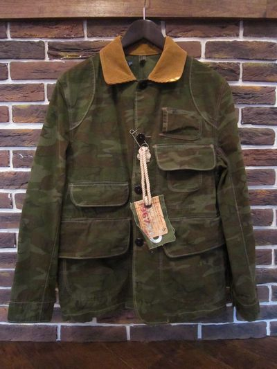 POLO BY RALPH LAUREN(ラルフローレン)CAMOUFLAGE HUNTING JKT(ハンティングジャケット)