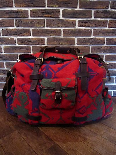 POLO BY RALPH LAUREN(ポロ ラルフローレン)NATIVE DUFFLE BAG(ネイティブダッフルバッグ)