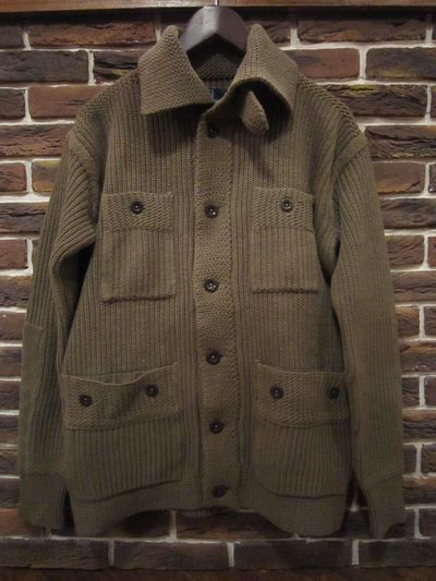 POLO BY RALPH LAUREN(ポロ ラルフローレン)KNIT JACKET(ニットジャケット)