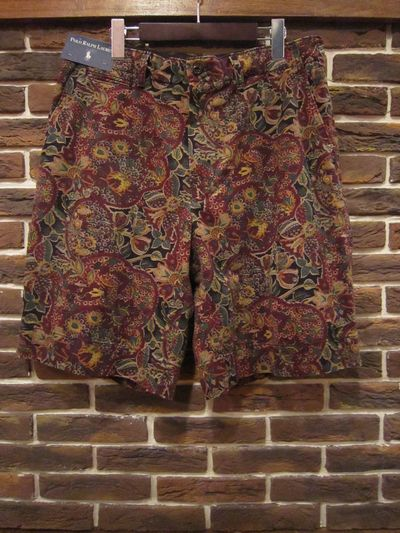 POLO BY RALPH LAUREN(ポロ ラルフローレン)FLORAL SHORT PANTS(花柄ショーツ)