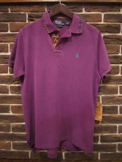 POLO BY RALPH LAUREN(ポロ ラルフローレン)S/S BEADS&PATCH WORK POLO SHIRTS(ビーズ&パッチワークポロシャツ)