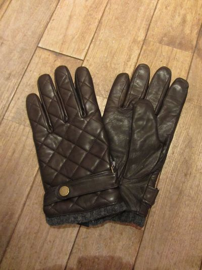 POLO BY RALPH LAUREN(ポロ ラルフローレン)ALL LEATHER QUILTING GLOVE(キルティングレザーグローブ)