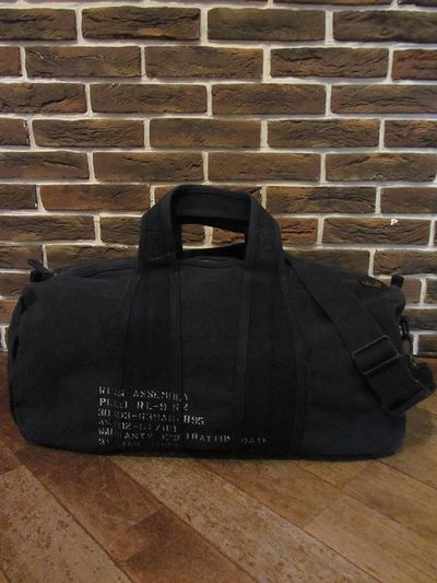 POLO BY RALPH LAUREN(ポロ ラルフローレン)CANVAS DUFFLE BAG(キャンバスダッフルバッグ)