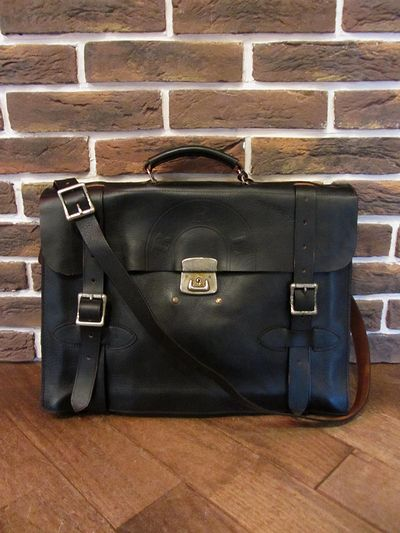 "RRL (ダブルアールエル)ALL LEATHER BRIEFCASE ""MADE IN ITALY""(オールレザーブリーフケース)"