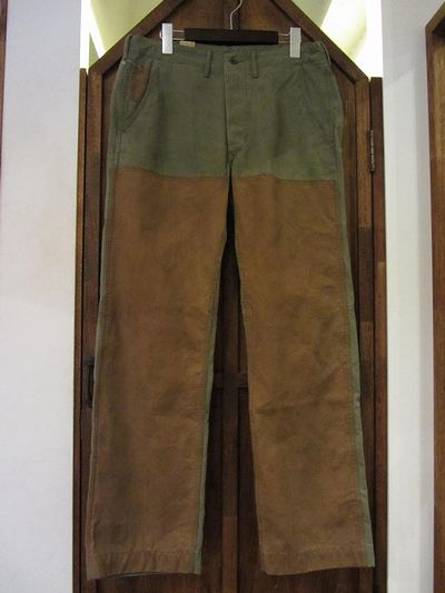 "RRL(ダブルアールエル)TWO TONE WORK TROUSER""DOUBLE FRONT""(ツートンワークトラウザー)"