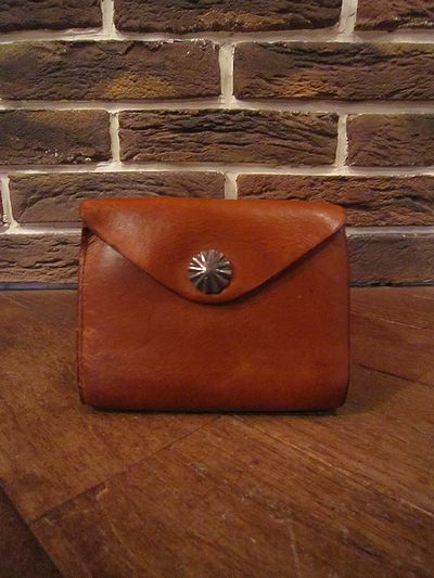RRL(ダブルアールエル)LEATHER CONCHO WALLET( レザーコンチョ財布 )
