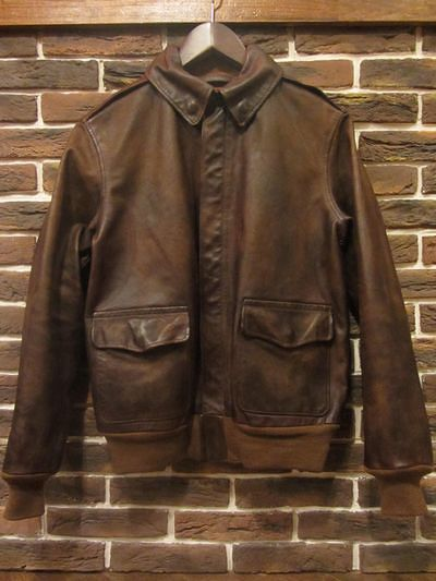 RRL(ダブルアールエル)A-2 LEATHER JACKET(A-2レザージャケット)