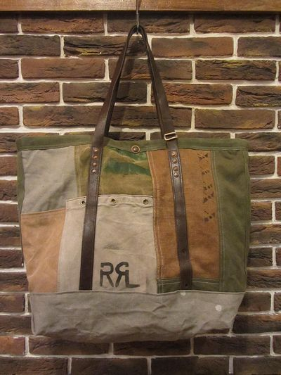 "RRL LIMITED EDITION(ダブルアールエルリミテッドエディション)""54LIMITED""PATCHWORK TOTE BAG (パッチワークトートバッグ)"