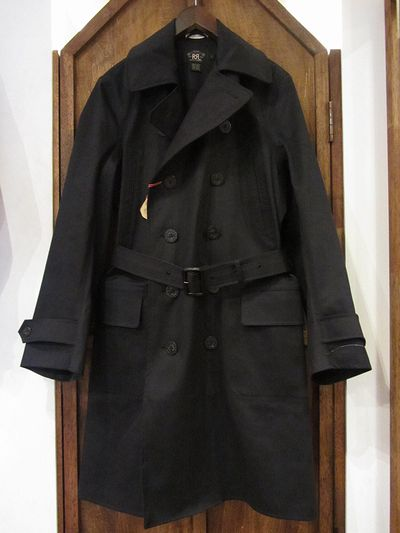 RRL LIMITED EDITION(ダブルアールエルリミテッドエディション)101LIMITED DOUBLE BREASTED TRENCH COAT(101枚限定ダブルブレストトレンチコート)