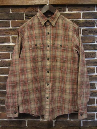 RRL(ダブルアールエル)L/S OMBRECHECK WORK SHIRTS(ワークシャツ)