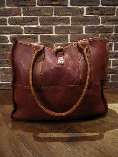 RRL(ダブルアールエル) LEATHER TOTE BAG(レザートートバッグ)