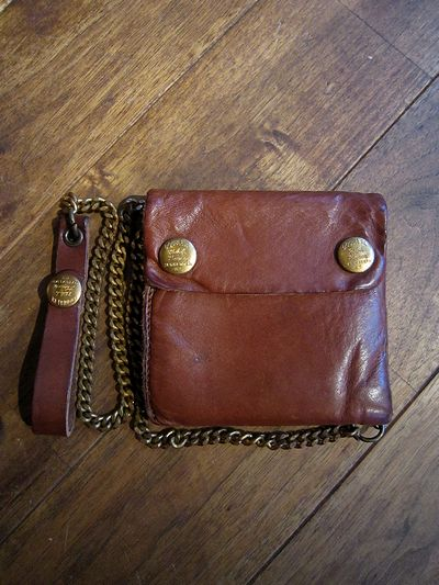 RRL(ダブルアールエル) LEATHER CHAIN WALLET(レザーチェーン財布)