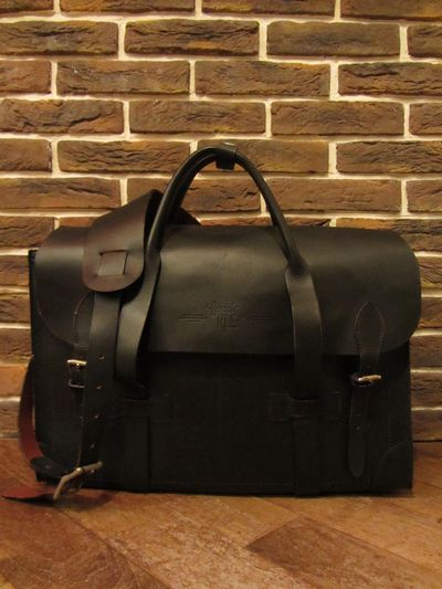"RRL (ダブルアールエル)ALL LEATHER BRIEFCASE""MADE IN ITALY""(オールレザーブリーフケース)"