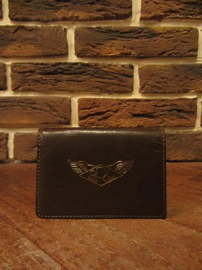 RRL (ダブルアールエル)A-2 LEATHER CARD WALLET(A2レザーカードウォレット)