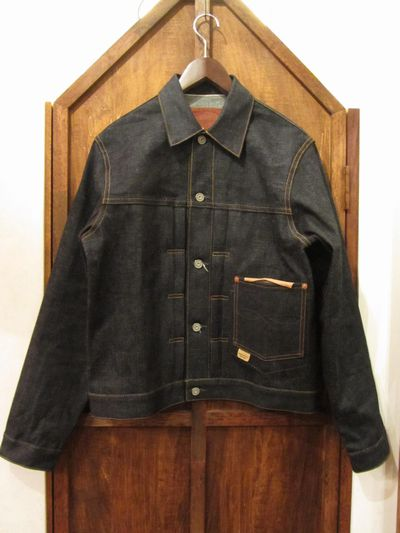 RRL (ダブルアールエル)1927 TYPE1 RIGID DENIM JACKET(EASTWEST SELVEDGE DENIM1stジャケット)