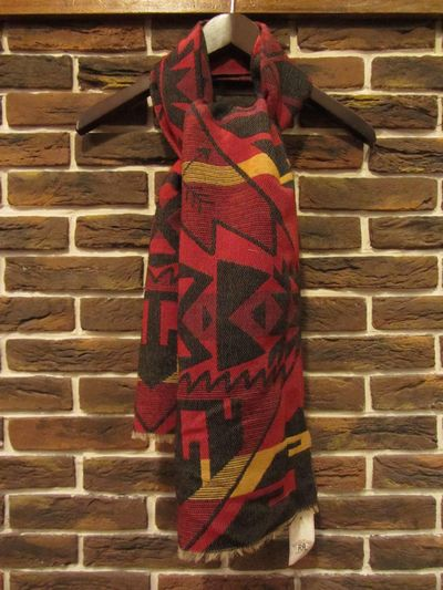 "RRL (ダブルアールエル)BLANKET SCARF""MADE IN ITALY""(ブランケットスカーフ)"