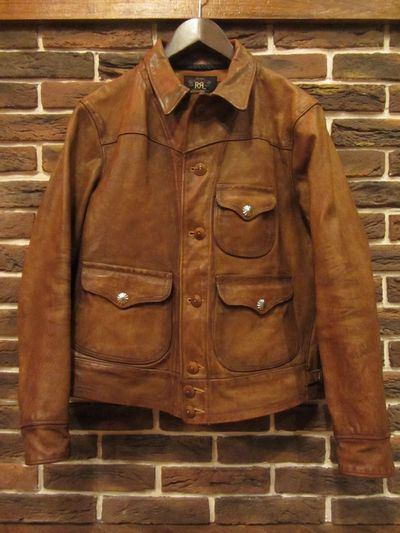 RRL (ダブルアールエル)GRIGGS LEATHER JACKET(GRIGGSレザージャケット)