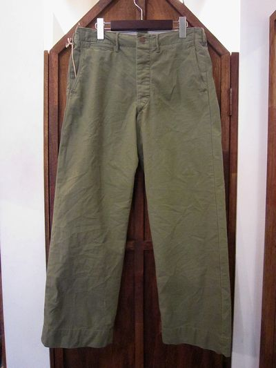 RRL(ダブルアールエル)WASHED OLIVE CHINO TROUSER