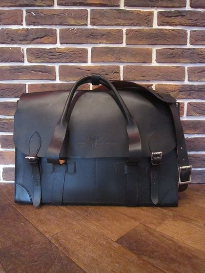"RRL(ダブルアールエル)ALL LEATHER SHOULDER BAG""MADE IN ITALY""(オールレザーショルダーバッグ)"
