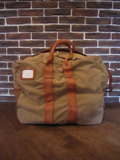 "RRL(ダブルアールエル)AVIATOR'S KIT BAG""MADE IN ITALY""(アビエーターキットバッグ)"