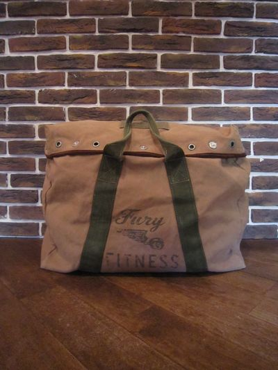 "RRL (ダブルアールエル)FURY FITNESS DUFFLE BAG""MADE IN ITALY""(ダッフルバッグ)"