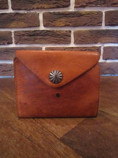 RRL(ダブルアールエル)LEATHER CONCHO WALLET(2011F/W レザーコンチョ財布 )