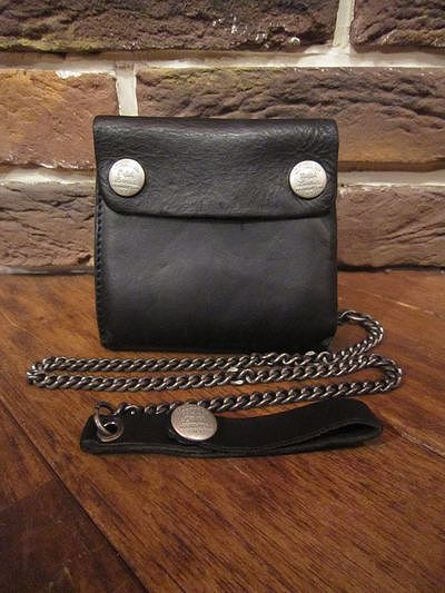 RRL (ダブルアールエル)LEATHER CHAIN WALLET(レザーチェーン財布)