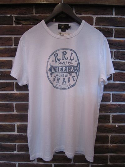 "RRL(ダブルアールエル) S/S TEE""N.Y. LIMITED EDITION"""