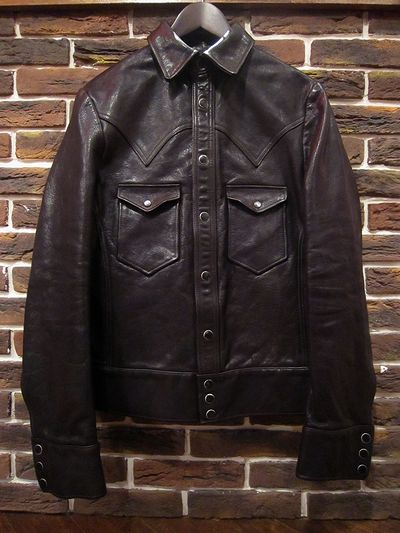 RRL(ダブルアールエル) LEATHER SHIRTS JACKET