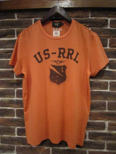 "RRL(ダブルアールエル) S/S TEE""MELROSE LIMITED EDITION"""