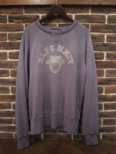 RUGBY(ラグビー)  L/S VINTAGE SWEAT SHIRTS