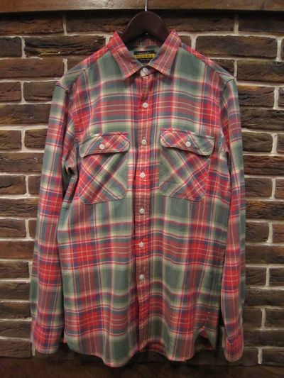RUGBY(ラグビー)L/S FLANNEL SHIRTS