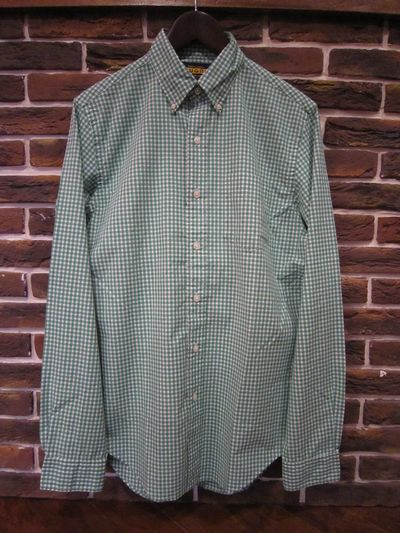 RUGBY(ラグビー)  L/S GINGHAM SHIRTS