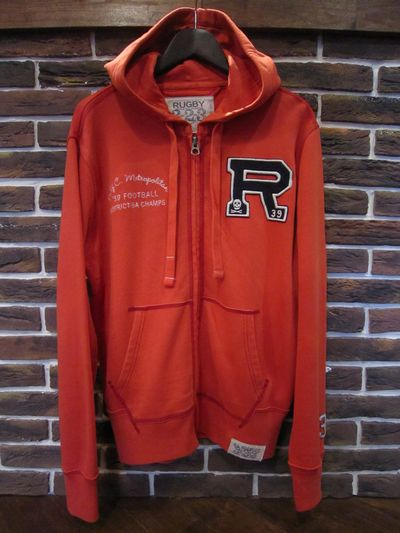 RUGBY(ラグビー)  LETTERED PARKA