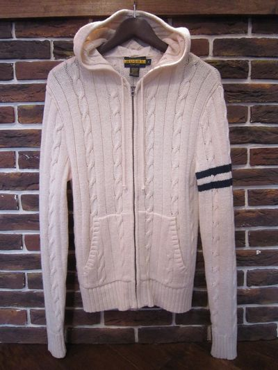 RUGBY(ラグビー) CABLE KNIT PARKA