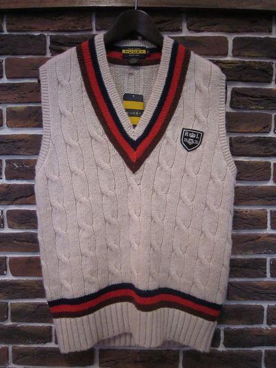 RUGBY(ラグビー) CABLE KNIT VEST