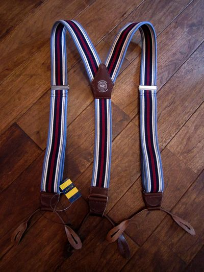 RUGBY(ラグビー)BUTTON END SUSPENDER