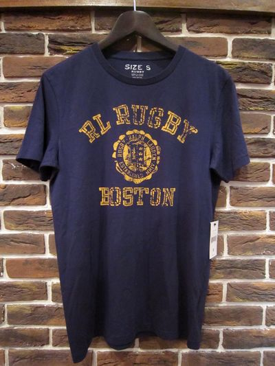 "RUGBY(ラグビー)S/S TEE SHIRTS""BOSTON""(Tシャツ"