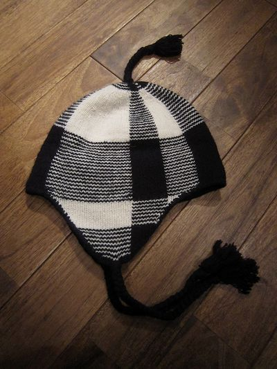 RUGBY(ラグビー)EARFLAP KNIT CAP(耳当てニットキャップ)