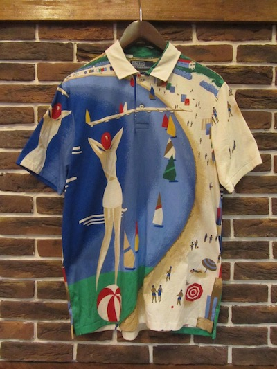 "POLO RALPH LAUREN(ラルフローレン)""RIVIERA"" POLO SHIRTS"