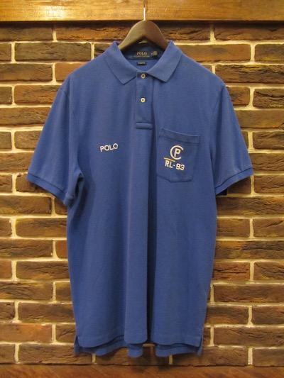 POLO RALPH LAUREN(ラルフローレン)CP93 GARMENT DYE POLO SHIRTS(CP93ポロシャツ)