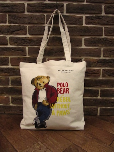 POLO RALPH LAUREN(ラルフローレン)CANVAS TOTE BAG
