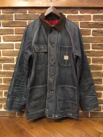 "POLO RALPH LAUREN(ラルフローレン)""POLO COUNTRY""DENIM CHORE JACKET(デニムカバーオール)"
