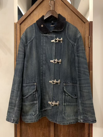 POLO RALPH LAUREN(ラルフローレン)DENIM FIREMAN JACKET