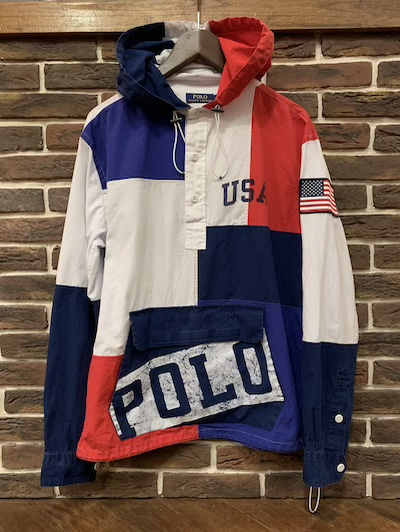 "POLO RALPH LAUREN(ラルフローレン)""USA "" PATCHWORK ANORACK(アノラック)"