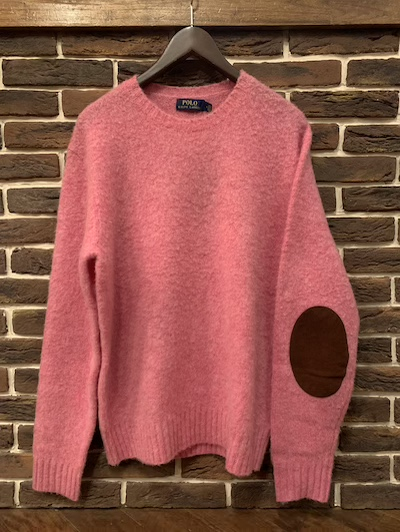"POLO RALPH LAUREN(ラルフローレン)""LAMB WOOL×CASHMERE"" CREWNECK SWEATER"