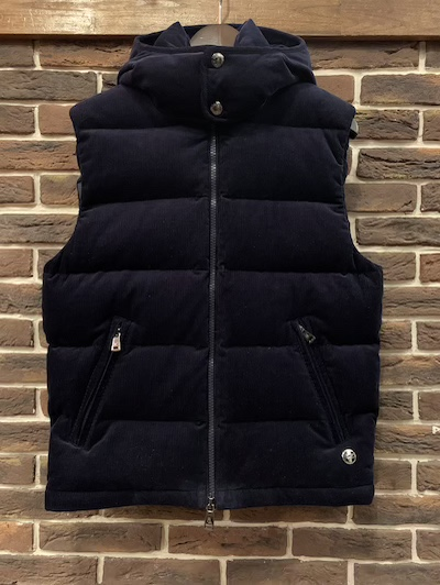 "POLO RALPH LAUREN(ラルフローレン)CORDUROY DOWN VEST ""Powered by RLX"""